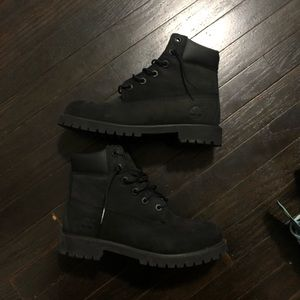Timberlands (Black Suede)